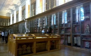 Photograph of The Enlightenment Gallery, The British Museum; photograph by Angela Sutton-Vane 2015